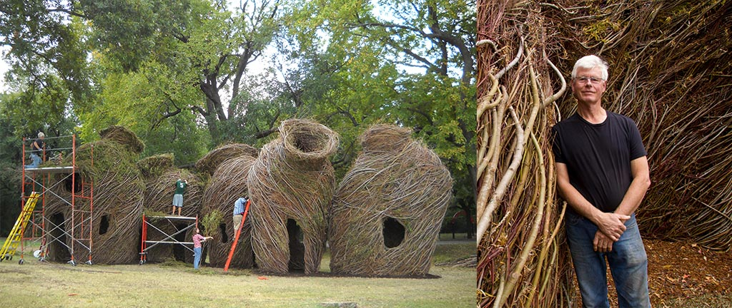 Sure Enough by Patrick Dougherty