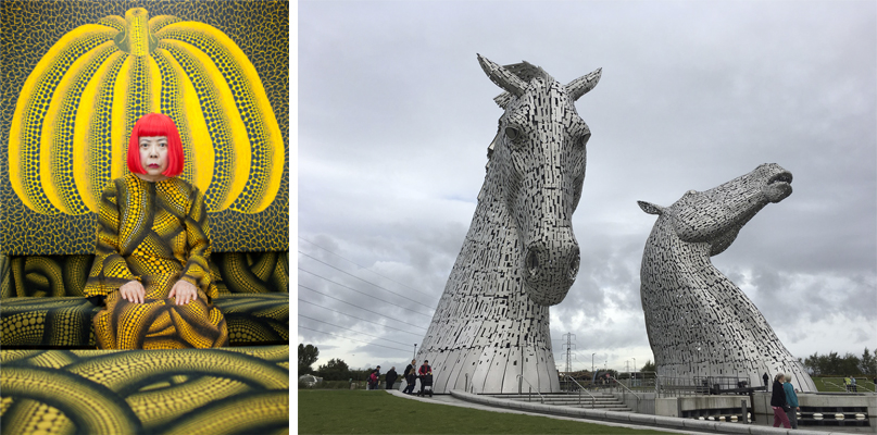 Taylor Wessing prize and Kelpies