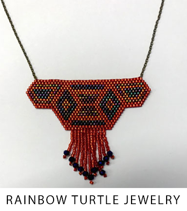 30 Rainbow Turtle Jewelry